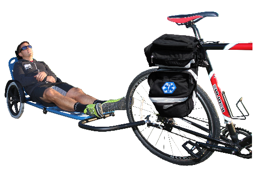 Moving Patients on REX ONE with Bike Attachment